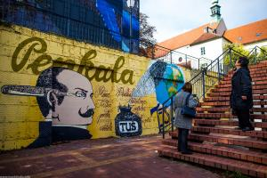 Murals in Zagreb: Croatian inventor - Penkala