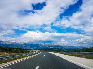 Highway Zagreb - Zadar